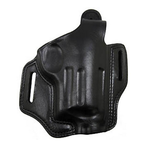 Bianchi Bianchi 5 Black Widow Leather Holster Black, Fits Taurus Judge 3