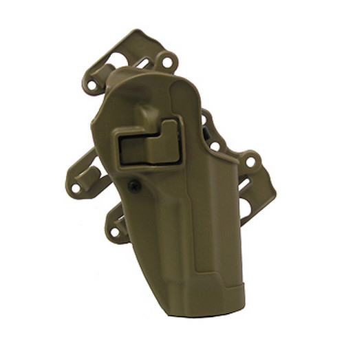 BlackHawk BlackHawk Products Group Serpa S.T.R.I.K.E./MOLLE Tactical Holster-Right Hand Foliage Green, Beretta 92/96 40CL01FG-R