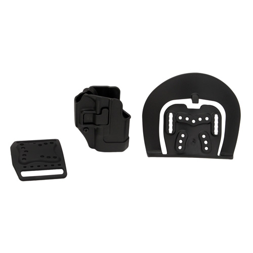 BlackHawk BlackHawk Products Group Serpa CF, Belt & Paddle Holster, Plain Matte Black Finish Glock 26/27/33, Right Hand 410501BK-R