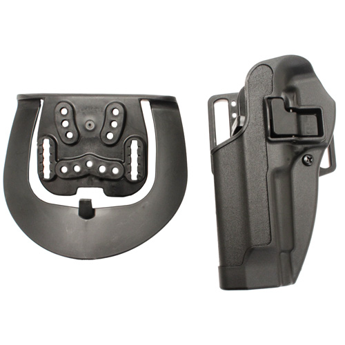 BlackHawk BlackHawk Products Group Serpa CF, Belt & Paddle Holster, Plain Matte Black Finish Beretta 92/96, Left Hand 410504BK-L