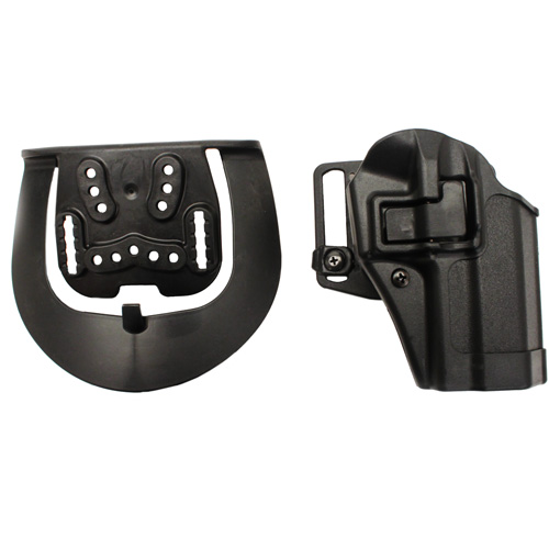 BlackHawk BlackHawk Products Group Serpa CF, Belt & Paddle Holster, Plain Matte Black Finish Sig 228/229, Right Hand 410505BK-R