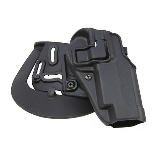 BlackHawk BlackHawk Products Group Serpa CF, Belt & Paddle Holster, Plain Matte Black Finish S&W 5900/4000, Right Hand 410510BK-R