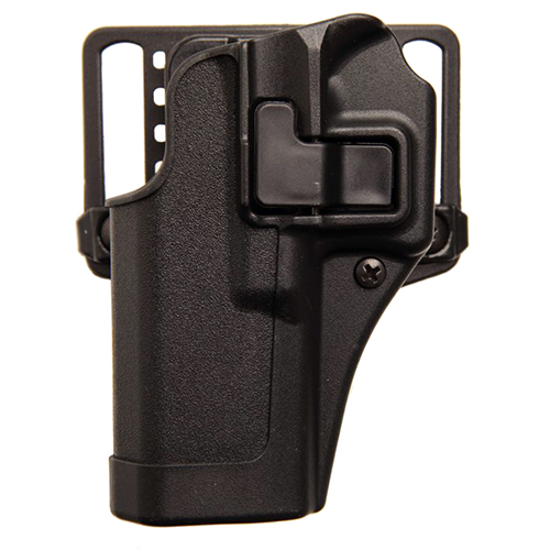BlackHawk BlackHawk Products Group Serpa CF, Belt & Paddle Holster, Plain Matte Black Finish H&K, USP Full, Right Hand 410514BK-R