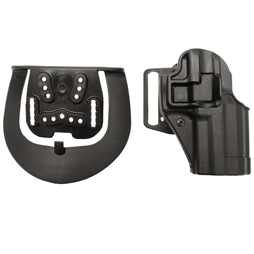 BlackHawk Products Group Serpa CF, Belt & Paddle Holster, Plain Matte Black Finish H&K P30, Right Hand 410517BK-R