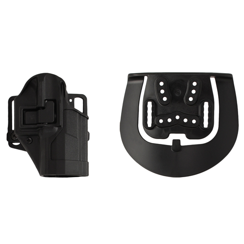 BlackHawk BlackHawk Products Group Serpa CF, Belt & Paddle Holster, Plain Matte Black Finish Right Hand, Walther P99 410524BK-R