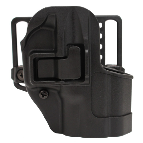 BlackHawk BlackHawk Products Group Serpa CF, Belt & Paddle Holster, Plain Matte Black Finish Springfield XD SubCompact, Right Hand 410531BK-R
