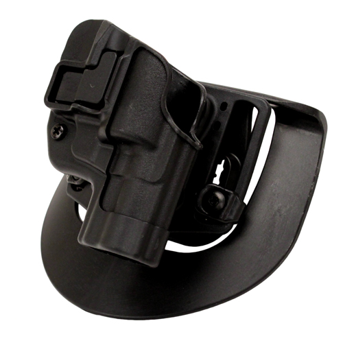 BlackHawk BlackHawk Products Group Serpa CF, Belt & Paddle Holster, Plain Matte Black Finish Taurus 85 2