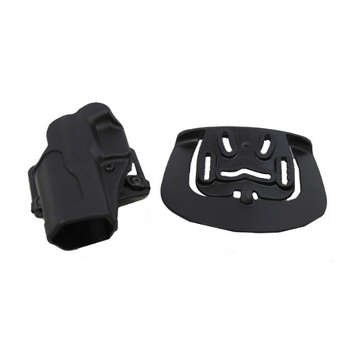 BlackHawk BlackHawk Products Group Sportster Standard Belt & Paddle Left Hand, Glock 17/22/31 415600BK-L