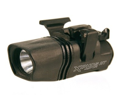 BlackHawk Products Group Night Ops Flashlight Xiphos NT Weapon Mounted Light 75204BK-R