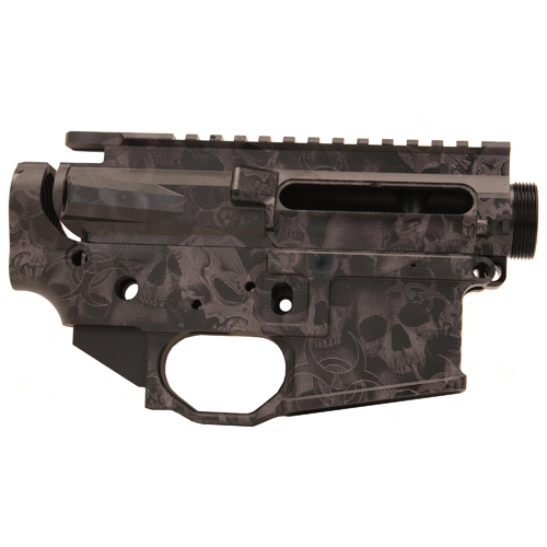 Black Rain Ordnance .223 Milled Upper/Lower Receiver Skulls