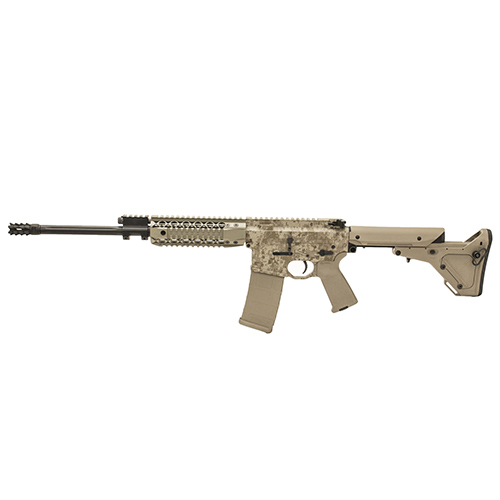 "Black Rain Ordnance AR-15 5.56 NATO 16"" Barrel 30 Round Digital Tan UBR Stock Piston Semi Automatic Rifle BRO-PG2PISTON"