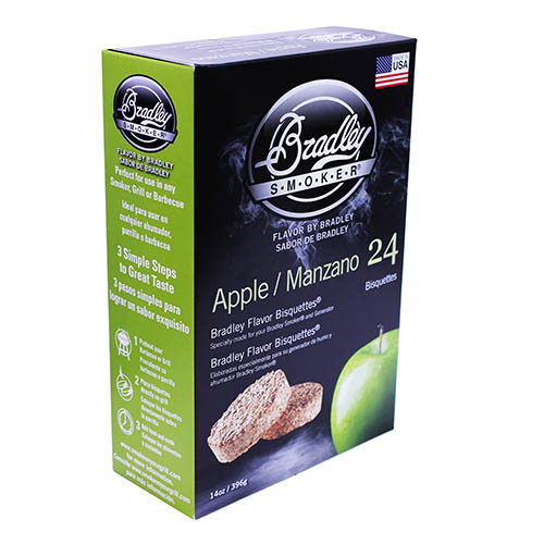 Bradley Technologies Bradley Technologies Smoker Bisquettes Apple (24 Pack) BTAP24