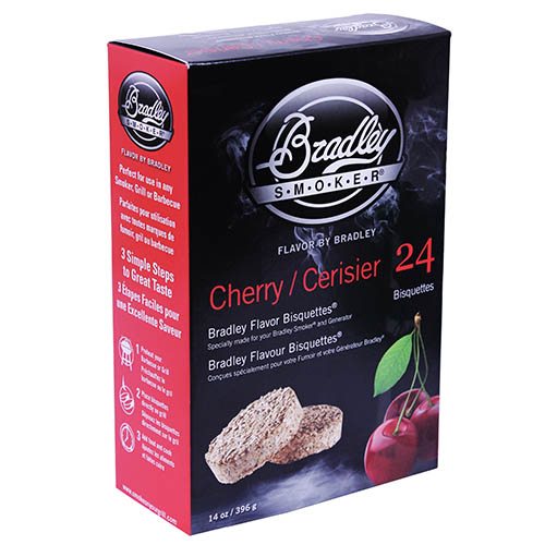 Bradley Technologies Smoker Bisquettes Cherry (24 Pack)