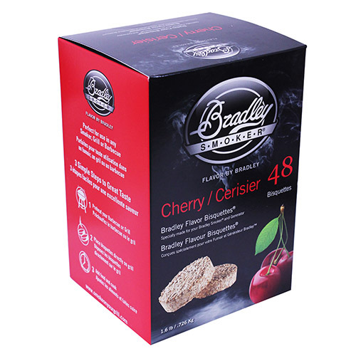 Bradley Technologies Smoker Bisquettes Cherry (48 Pack)