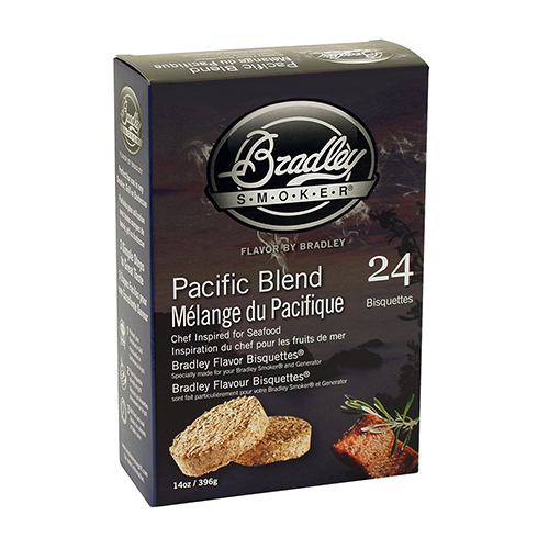 Bradley Technologies Smoker Bisquettes Pacific Blend 24 Pack