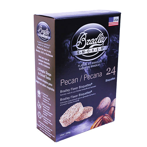 Bradley Technologies Smoker Bisquettes Pecan (24 Pack)