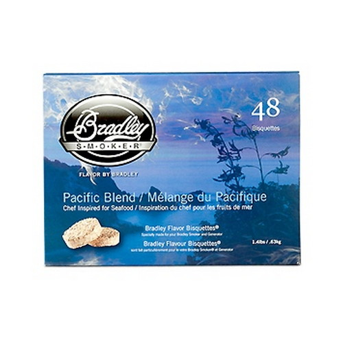 Bradley Technologies Smoker Bisquettes Pacific Blend, 48 Pack