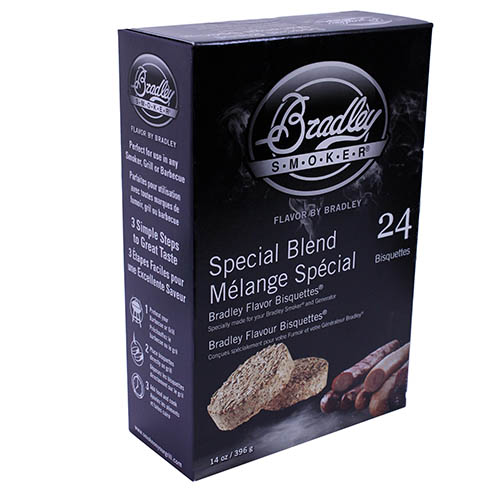 Bradley Technologies Bradley Technologies Smoker Bisquettes Special Blend 24 Pack BTSB24