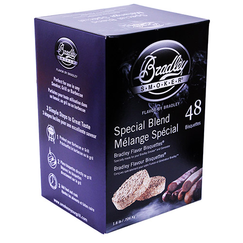 Bradley Technologies Bradley Technologies Smoker Bisquettes Special Blend (48 Pack) BTSB48