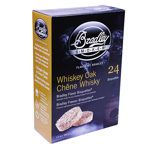 Bradley Technologies Bradley Technologies Smoker Bisquettes Whiskey Oak Special Edition 24 Pack BTWOSE24