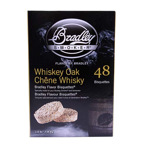 Bradley Technologies Bradley Technologies Smoker Bisquettes Whiskey Oak Special Edition, 48 Pack BTWOSE48