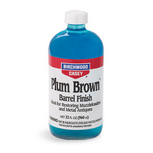 Birchwood Casey Plum Brown Barrel Finish 32 oz