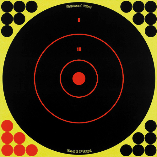 Birchwood Casey Birchwood Casey Shoot-N-C Targets: Bull's-Eye SRC-5 12