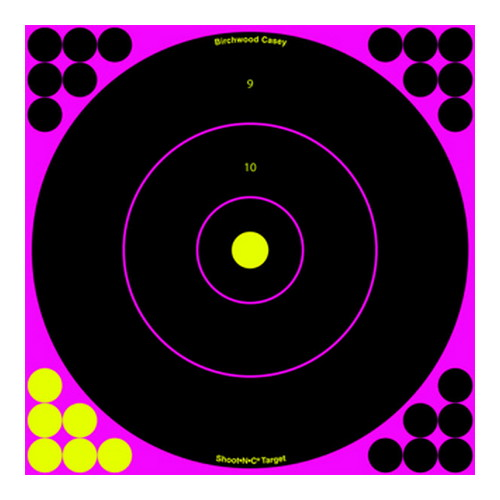 Birchwood Casey Birchwood Casey Shoot-N-C Targets: Bull's-Eye 12
