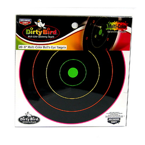 Birchwood Casey Birchwood Casey Dirty Bird Multi-Color Target 8