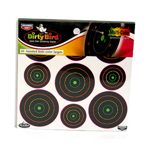Birchwood Casey Dirty Bird Multi-Color Target 2