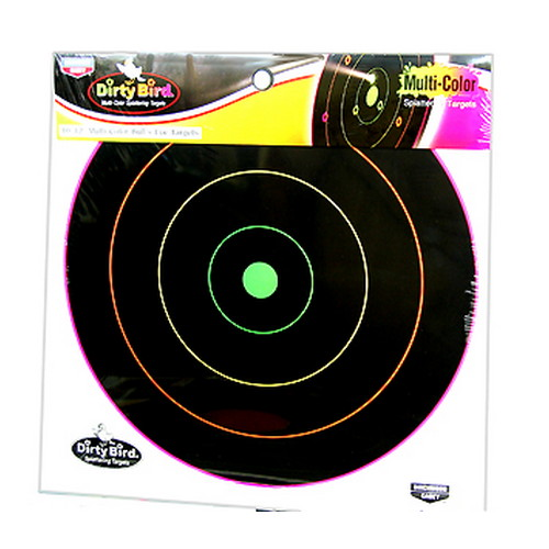 Birchwood Casey Birchwood Casey Dirty Bird Multi-Color Target 12