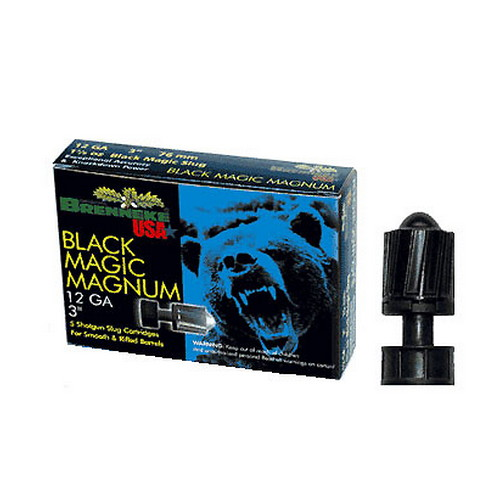 Brenneke Brenneke Black Magic Magnum Slug 12 Gauge, 3