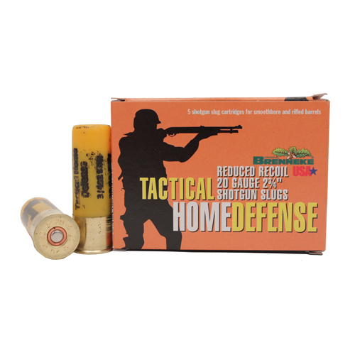Brenneke Tactical Home Defense Slug 20 Ga 2.75