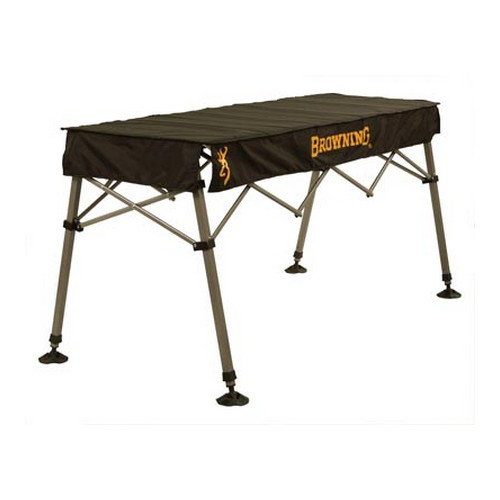 Browning Camping Browning Camping Outfitter Table, Black 8552011