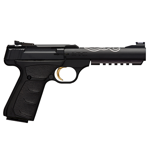 Browning Pistol Browning Buck Mark Black Lite, .22 Long Rifle, 5 1/2