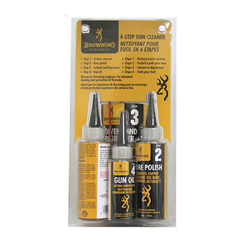 Browning Browning Pre-pack 4-Step Gun Cleaner 123400