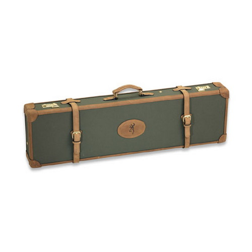 Browning Browning Canvas Leather Case Universal, Sage/Brown 1426125408