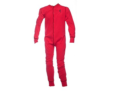 Browning Union Suit, Red Large 3001096103