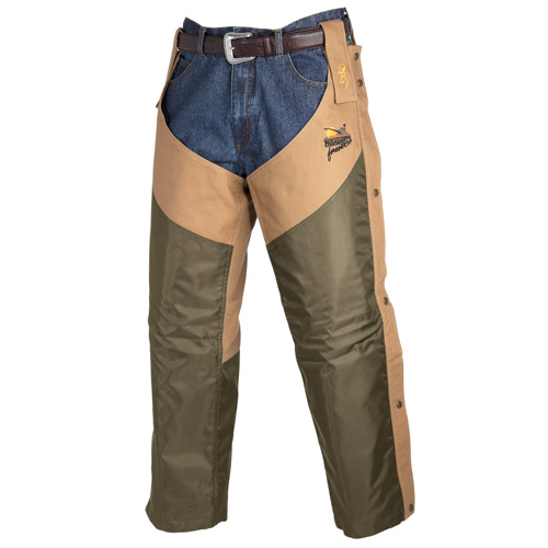 Browning Browning Pheasants Forever Chaps Upland Field Tan, Regular 3001163203