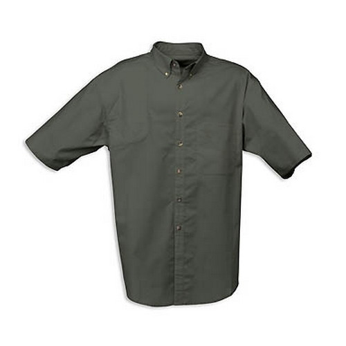 Browning Browning Badger Creek Short Sleeve Woven Shooting Shirt Pine, Small 3010345401