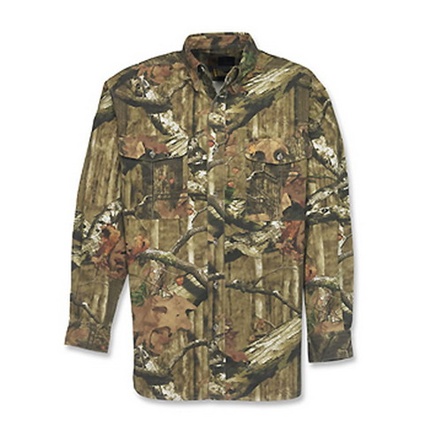 Browning Wasatch Long Sleeve Shirt, Mossy Oak Infinity Medium