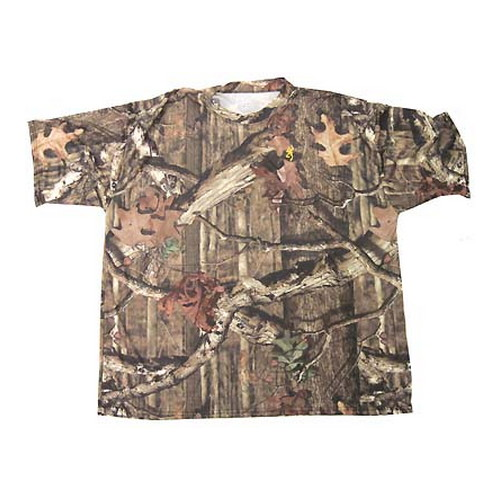 Browning Wasatch Vapor Max Short Sleeve Tee, Mossy Oak Infinity X-Large