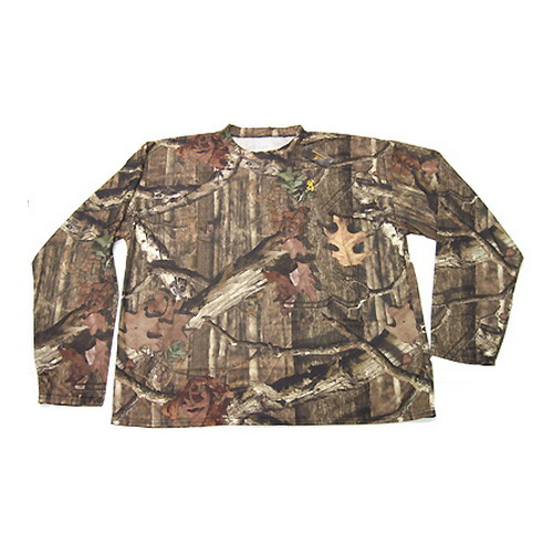 Browning Browning Wasatch VaporMax Long Sleeve Tee Mossy Oak Infinity Small 3011612001
