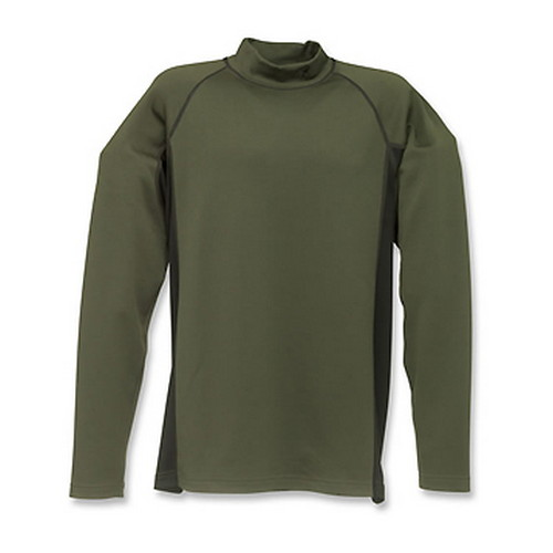 Browning Full Curl Wool Base Layer Shirt, Loden XXX-Large 3011992906