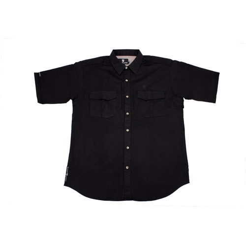 Browning Browning Tactical Short Sleeve Shirt, Black XXX-Large 3013849906