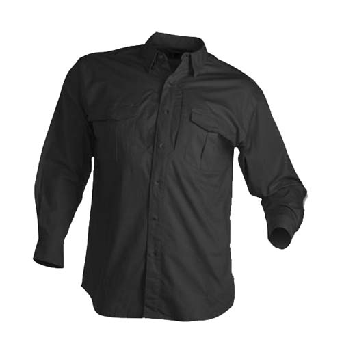Browning Browning Tactical Long Sleeve Shirt, Black XX-Large 3013859905