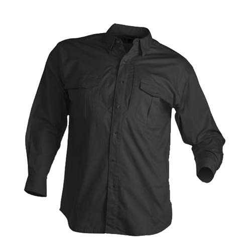 Browning Browning Tactical Long Sleeve Shirt, Black XXX-Large 3013859906
