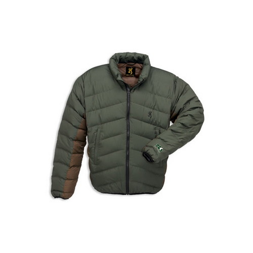 Browning Browning Down 700 Jacket Olive, Large 3047664203
