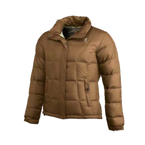 Browning Browning Lady Down 650 Jacket, Chocolate Small 3049613101