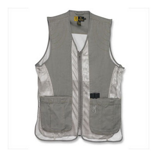 Browning Browning Dusty Mesh Vest Stone/Tan Small 3050236901
